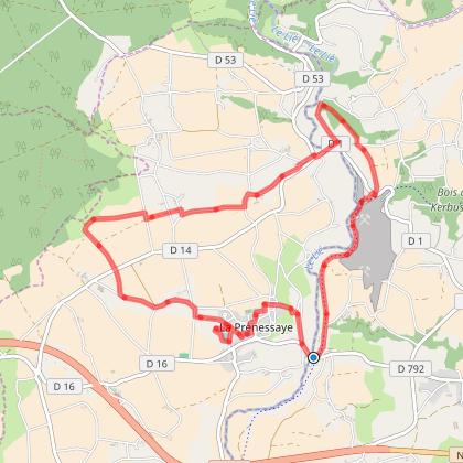 Tour de La Prenessaye et de la vallée du lié
