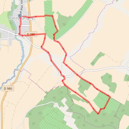Circuit du chemin des meuniers