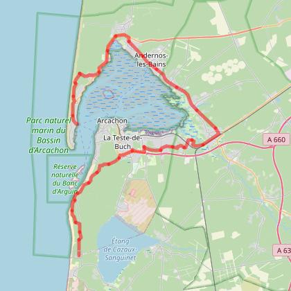 Le Tour du Bassin d'Arcachon à vélo - Du Cap-Ferret à la Dune du Pilat