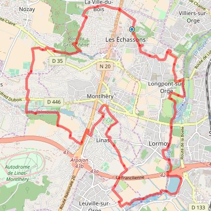 Longpont, Montléry, Linas, Marcoussis, La Ville du Bois v1