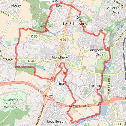 Longpont, Montléry, Linas, Marcoussis, La Ville du Bois v2