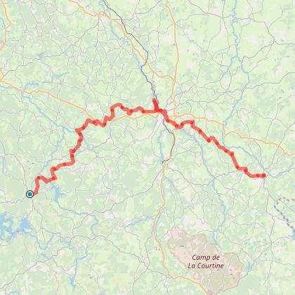 Royère-de-Vassivière - Aubusson - Crocq