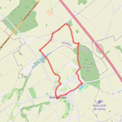 Thorembais-st-Trond boucle RAVeL