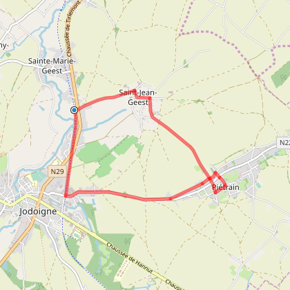 Saint-Jean-Geest boucle RAVeL