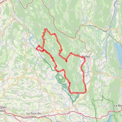 La Route du Bugey - Circuit du Rhône aux crêtes