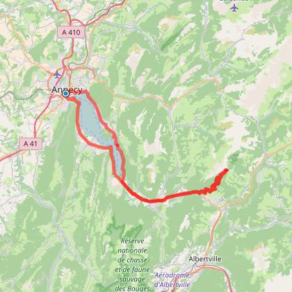 Boucle Annecy-Arpettaz