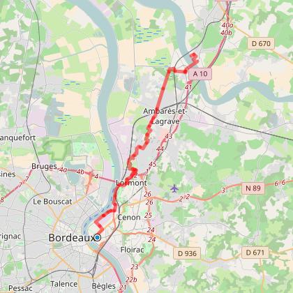 Bordeaux - Cubzac les ponts