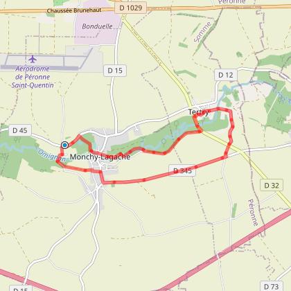 Rando Santé + - MONTECOURT - Le Chemin de la Vicomté - 8,5 Kms