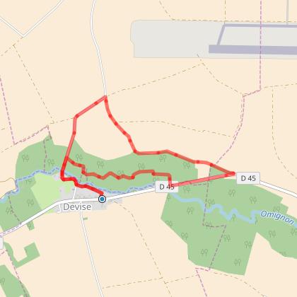 Rando Santé - DEVISE - La Fontaine des Trois Hasards - 5,2 Kms