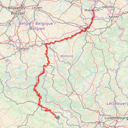 La Vallée de la Meuse - Mouzon-Maastricht