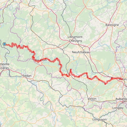La Vallée de la Semoy/Semois - De Monthermé à Arlon
