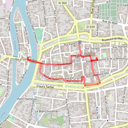 Discover Sens - Pedestrian tour