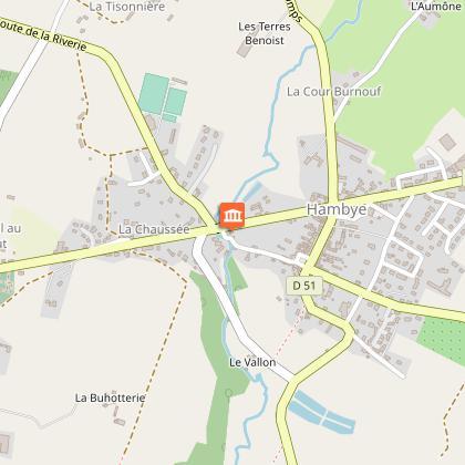 Aire de Pique Nique > Bourg de Hambye