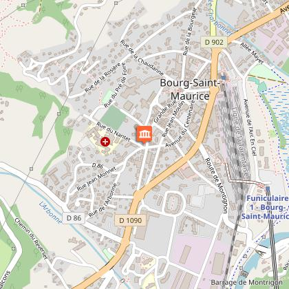 Eglise de Bourg Saint Maurice
