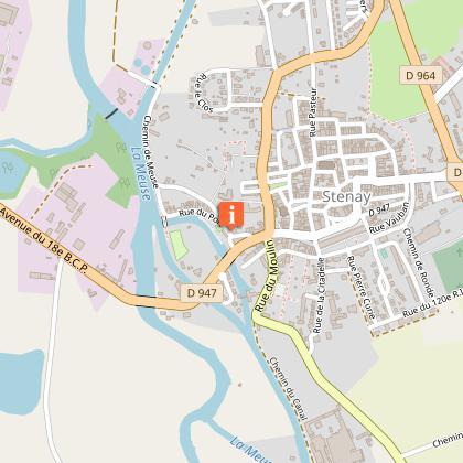 OFFICE DE TOURISME DU PAYS DE STENAY - VAL DUNOIS : BUREAU D'INFORMATION TOURISTIQUE DE STENAY