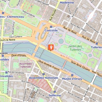 Voie Georges Pompidou à vélo