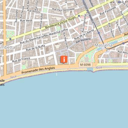 Bureau d'Information Touristique Nice Côte d'Azur