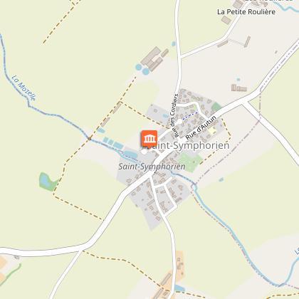 Le village de Saint Symphorien