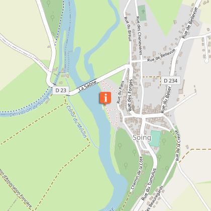 Aire de pique-nique des bords de Saône à Soing