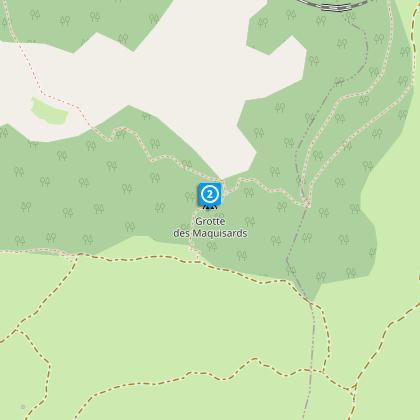 La Baoumasse ou grotte des Résistants