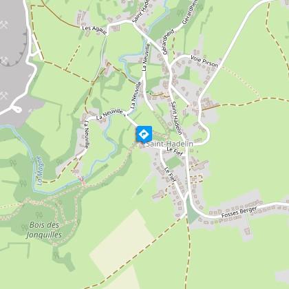 Information de parcours 1 - Eglise Saint-Hadelin