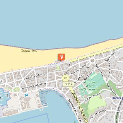 Côté plage