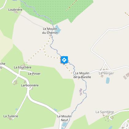 La vallée du Saumort (ruisseau)