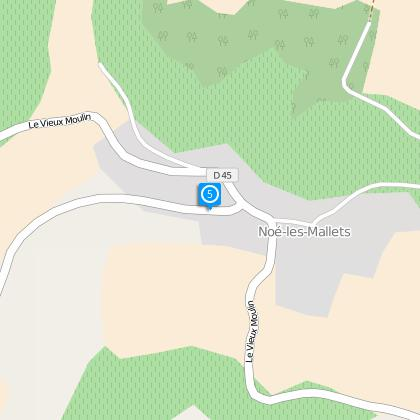 Direction Viviers sur Artaut, les Fâches, 0.5 km
