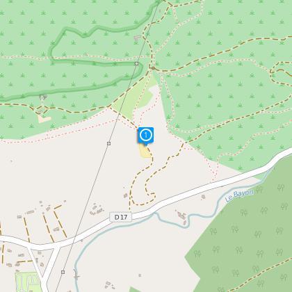 Départ depuis le parking du Domaine Départemental de Roque Haute