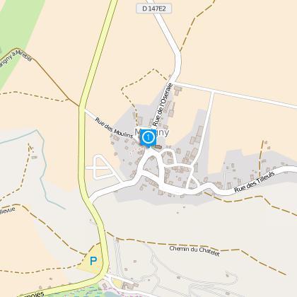 Départ de Marigny - Eglise 525m