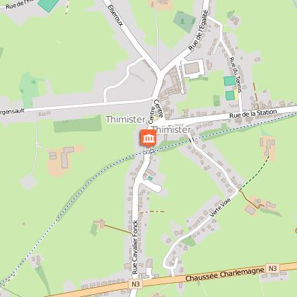 Circuit VTT balisé dans la commune de Thimister-Clermont