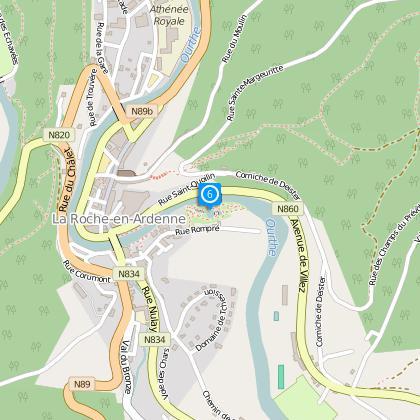 Navigation sur l'Ourthe + aménagements des quais