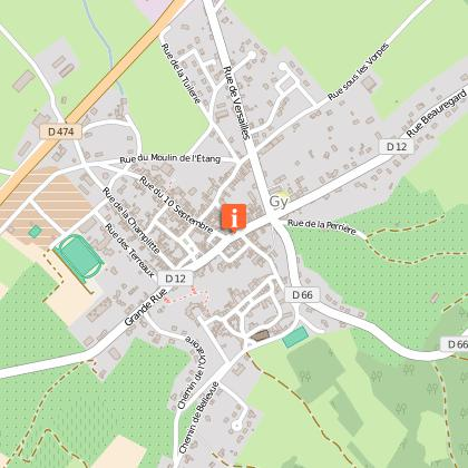 Parcours marche gy circuit p destre de bellevue en for 3966 haute saone