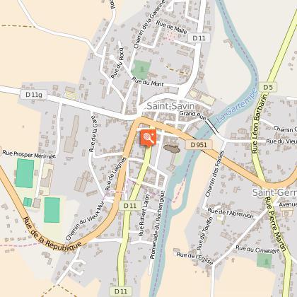 Circuit de découverte à pied des communes de Saint Germain et de Saint Savin
