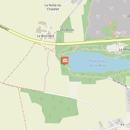Parcours numérique de la Mine d'Abbaretz - Panorama de l'étang