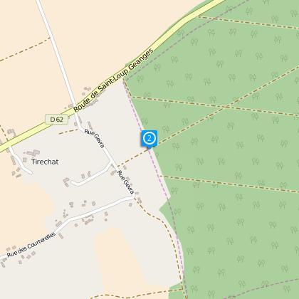 Intersection dite de l'entrée de la forêt de la Mailleroye