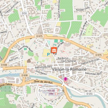 Parcours v lo route les villages des templiers d part - Office du tourisme de vaison la romaine ...