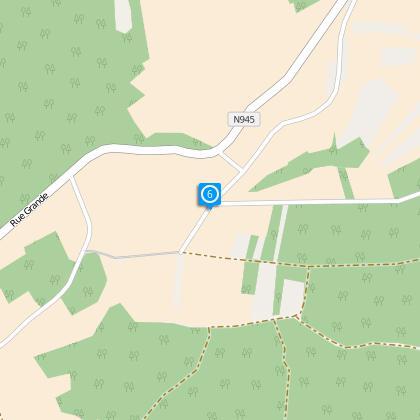 Intersection en Y : Prendre à droite