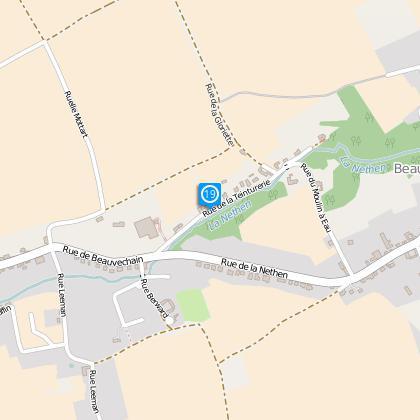Rue de la teinturerie (N°21) : Ancien moulin à eau