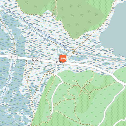 Zone repli PMR accès route services d'urgence (ambulance, pompiers...)