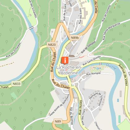 """Tourist Information Center (TIC) """"the Heart of the Ardenne, along the Ourthe and the Aisne"""""""