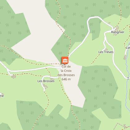 Changement de vallée et vue sur le Tourvéon en allant sur Chénelette