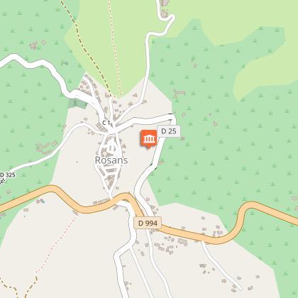 Château et Tour à Rosans