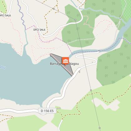 Barrage du lac du Salagou