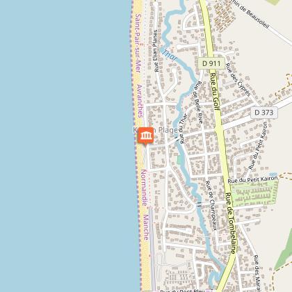 Plage de Kairon à Saint-Pair-sur-Mer