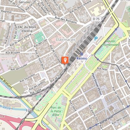 Hôtel B&B Reims Centre Gare