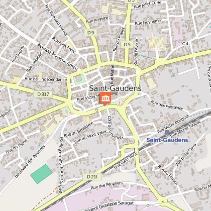 L'histoire et l'architecture de Saint-Gaudens et du Comminges