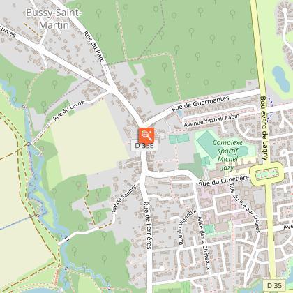 Parcours Baludik - Bussy-Saint-Georges au fil de l'eau