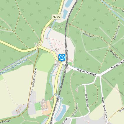 Départ: carrefour entre l'av. G.Speeckaert et le rur de l'Abbaye