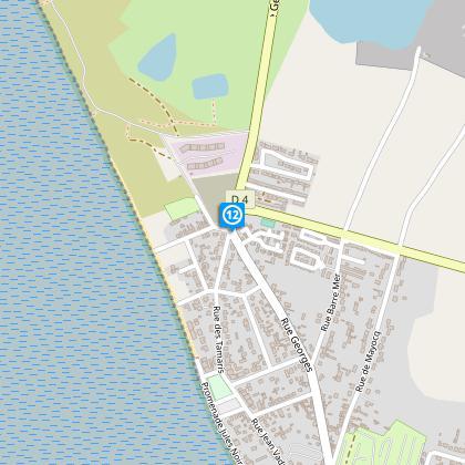 Direction Centre-Ville / La Plage.